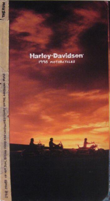 1998 Harley Davidson Brochure, Sportster Dyna Low Rider Super Electra Glide Sftl