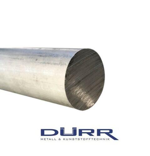 100cm Aluminium Alu Round Full Material Length 1000mm Almgsi 1 from Ø6mm-Ø200mm