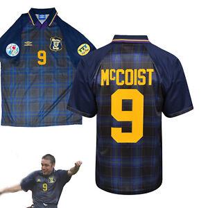 Scotland 1996 Euro 96 Football Shirt - 9 McCoist - Retro Remake - Size XL