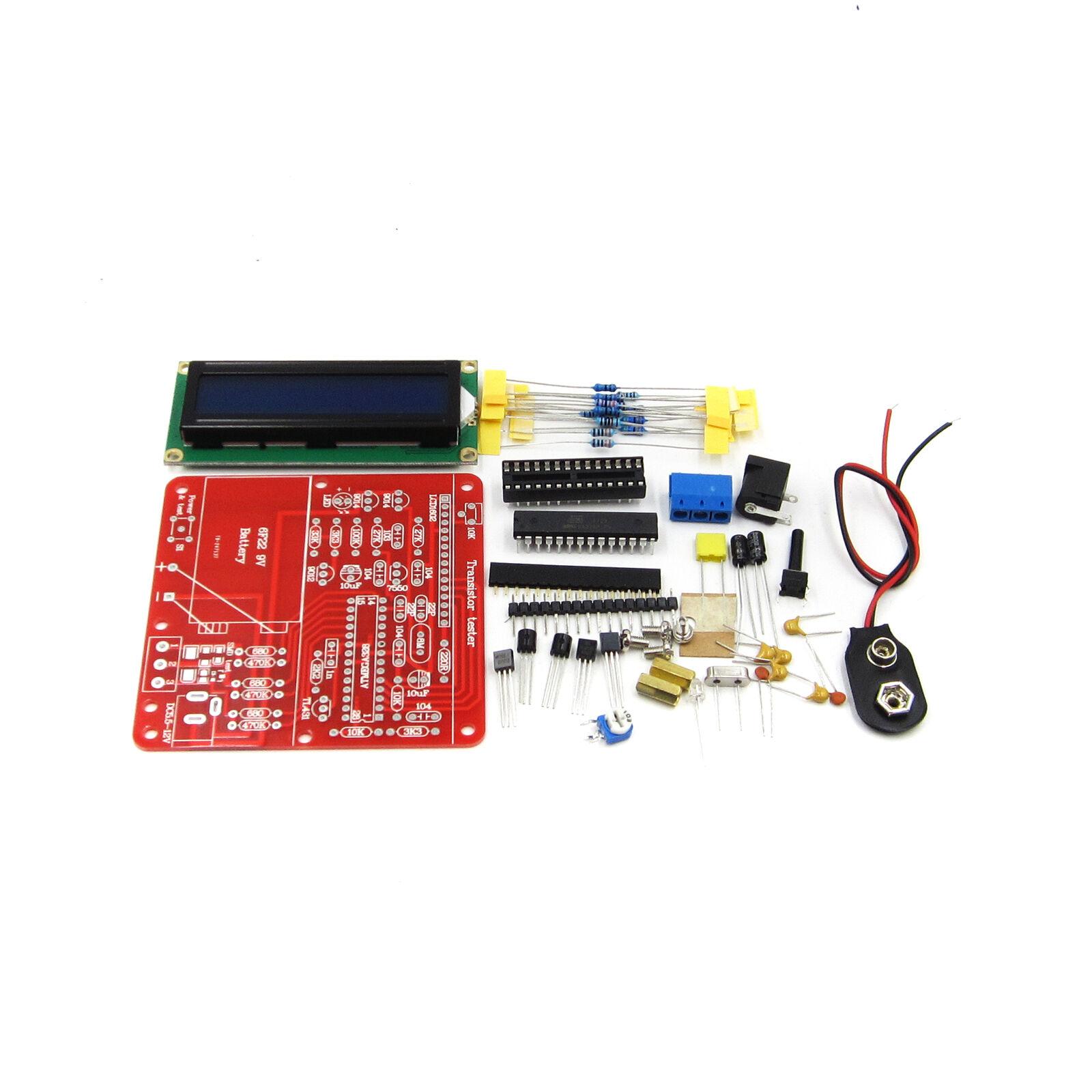 M8 Transistor Tester ESR Meter LC Meter Diode Triode Capacitance DIY Kit ATF