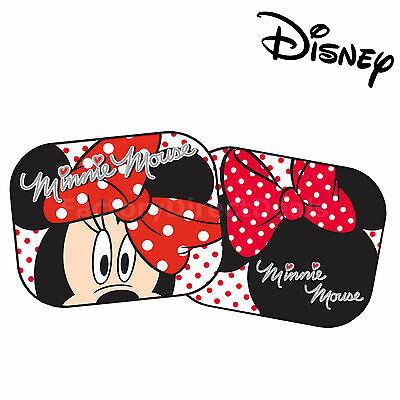 Disney Mickey and Minnie Mouse Black Kids Baby Children Car Window Sun Shades 16