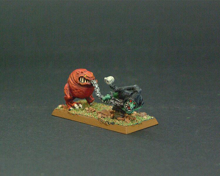 WFB Personalizado Noche Duende & Squig pintado por TMC equipo-Juegos Workshop