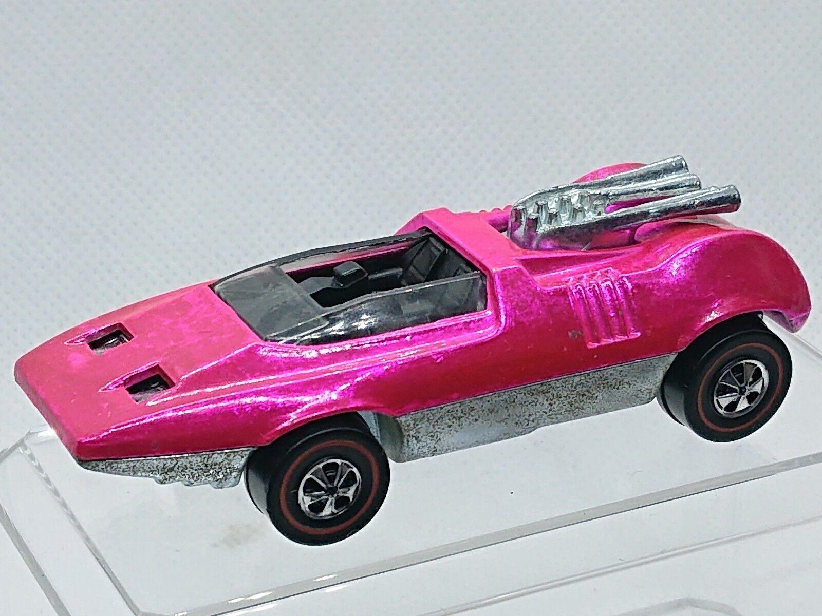 1970 hot wheels voyeure bombe rotline usa spectraflame hot Rosa   hw1084 st.
