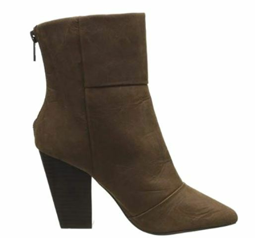 KELSI DAGGER BROOKLYN New Brown Bootie ZIDANE Short Ankle Boots NIB shoes 8.5