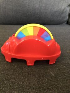 FISHER-PRICE-RAINFOREST-JUMPEROO-SPINNING-WHEEL-RED-TRAY-TOY-REPLACEMENT-PARTS