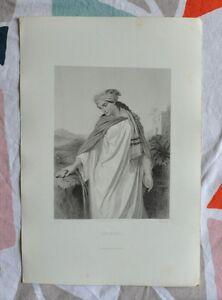 Belle Gravure Xixème - Séphora - Bible - Religion - Gustave Staal 8cpscdtl-08000137-285305229