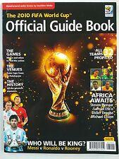 2010 FIFA WORLD CUP RARO LIBRO GUIDA UFFICIALE Nuovo di zecca. più economico su ebay.