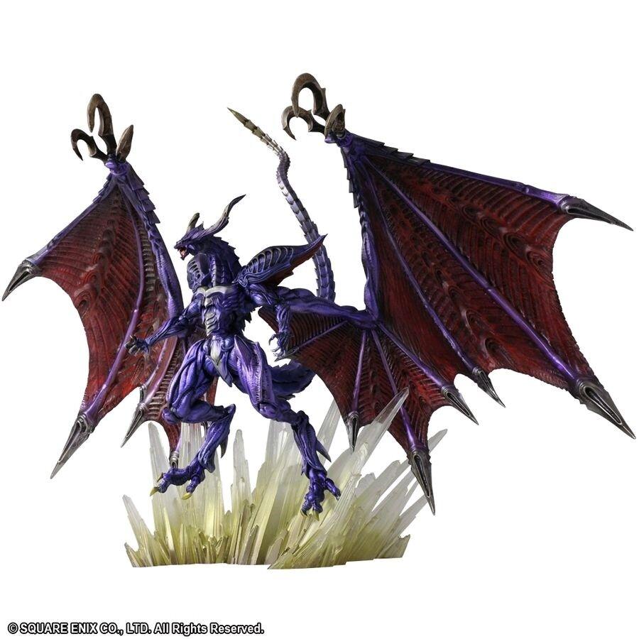 5 -7  Figures--Final Fantasy - Bahamut Bring Arts Action Figure