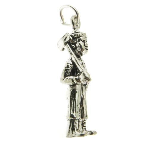 Argent Sterling 925 Lumber Jack Charm Made in USA