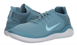 1fdebbd35d44f Nike Free RN 2018 Sun Running Shoes AH5207-400 Noise Aqua Blue White ...