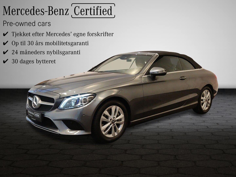 Mercedes C300 2,0 Cabriolet aut. 2d - 719.900 kr.