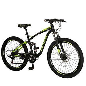 2019-Full-Suspension-Mountain-Bikes-Shimano-21-Speed-Mens-Bicycle-27-5-034-MTB