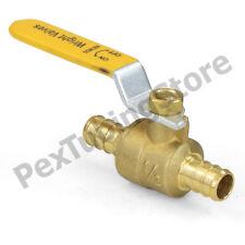 100 12 Pex Shut Off Brass Ball Valves Full Port