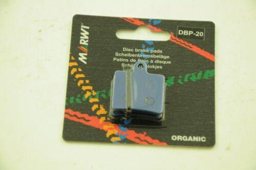 MARWI UNION ORGANIC DISC BRAKE PADS FOR HOPE MINI CALIPERS 1+1 FREE DBP-20