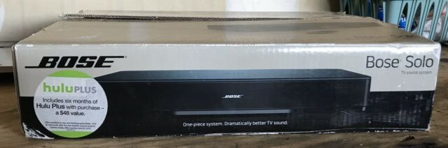 Bose Solo TV Sound System - Black - 32