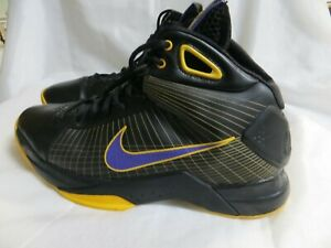 b41a0bf8e044 NIKE HYPERDUNK LAKERS SUPREME PURPLE   GOLD 333373-051 SIZE US 10.5 ...