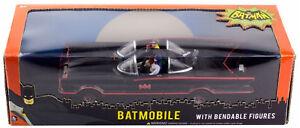 Batman-classic-tv-series-batmobile-1966-car-and-figures-1-24-scale-new-NJDC3930
