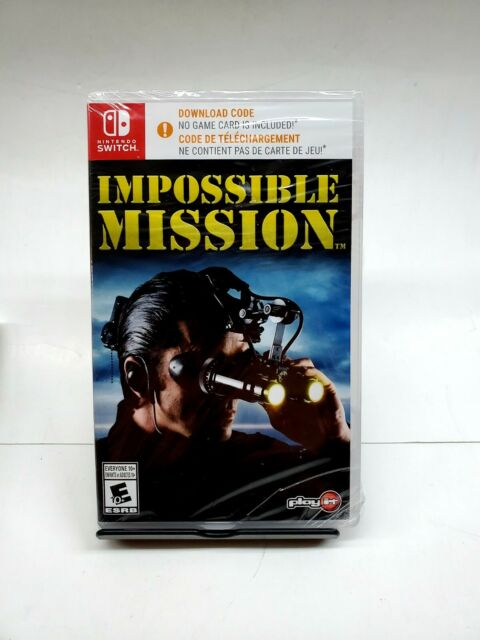 Mission Impossible ( Nintendo Switch, 2018) Brand New Sealed