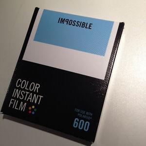 Film for für Polaroid 600 camera Kamera, Impossible color white frame. - Deutschland - Film for für Polaroid 600 camera Kamera, Impossible color white frame. - Deutschland