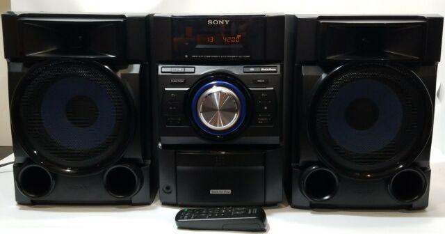 Sony MHC EC709IP Mini Hi Fi Component Stereo System +Remote iPod PC Speakers