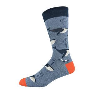 Bamboo fibre Shark socks.Wedding socks.Groom socks.Sea creature socks.