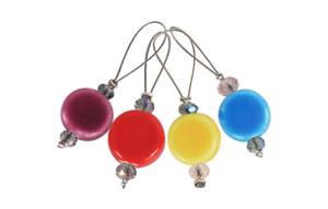 Maschenmarkierer Gems Ideal zum Markieren v Musterfolgen 11252 KnitPro 12St