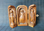 thumbnail 1 - noble old boxwood hand carved Christian Jesus statue Extension box table decor