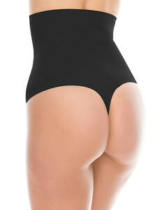LANFEI Womens Shapewear Thong Slimming Body Shaper Tummy Control Panty