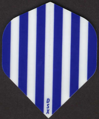 3 per set Blue ATOMIC Slim Dart Flights