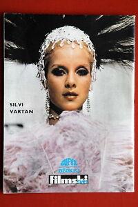 SYLVIE-VARTAN-ON-BACK-COVER-1969-RARE-VINTAGE-EXYUGO-MAGAZINE