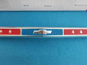 1967 67 Chevy Chevelle El Camino Grille Emblem Bowtie Grill