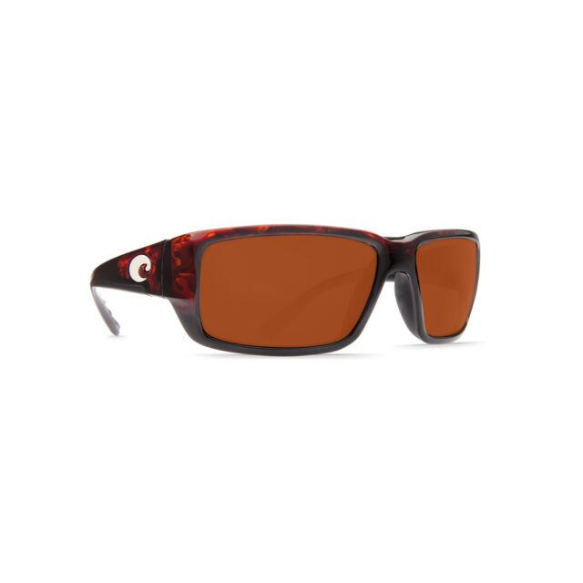 3b708f7f0c Costa Del Mar NEW Fantail Tortoise 580G Glass Copper Polarised Sunglasses