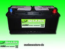 AGM Batterie SHARK 110Ah 12V - NEU - Akku Solar Auto Womo