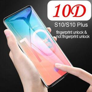 For-Samsung-Galaxy-S10-Plus-Tempered-Glass-Screen-Protector-Fingerprint-Unlock