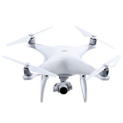 DJI Phantom 4 Quadrokopter weiß Kamera Flugdrohne Drohne visuelles Tracking