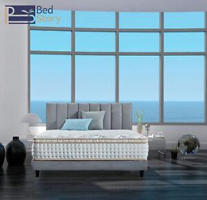 BedStory-12-inch-FULL-Pocket-Spring-Mattress-Gel-Infused-Memory-Foam-Mattress