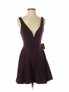 NWT-Express-Women-Purple-Dress-Sm-54