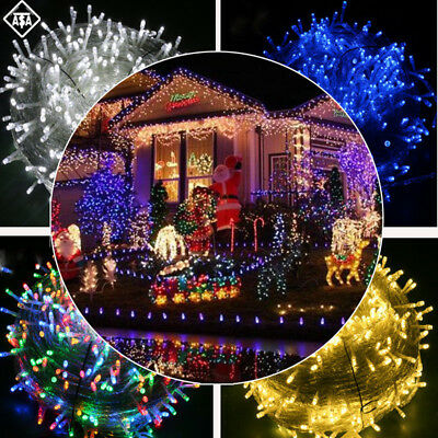100 LED Waterproof String Light For Christmas Festival Party Outdoor Decoration