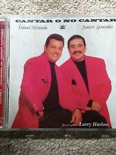 "ISMAEL MIRANDA ""CANTAR O NO CANTAR"" LATIN SALSA CARIBBEAN (ASEFRA CD)"