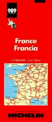 France (Michelin Maps) by Michelin Travel Publications Sheet map Book The Fast