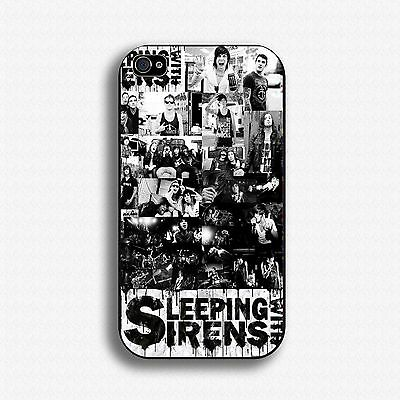 SLEEPING WITH SIRENS Iphone 4/5/5c/6/6p Samsung Galaxy S 3/4/5 Mini HTC Case