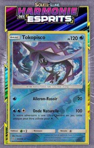 harmony of spirits 53//236 Tokopisco reverse-sl11 French designer card pokemon