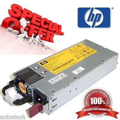 506822-101 HP 750W HIGH EFFICIENCY POWER SUPPLY FOR DL380 DL360 DL180 G6 /& G7