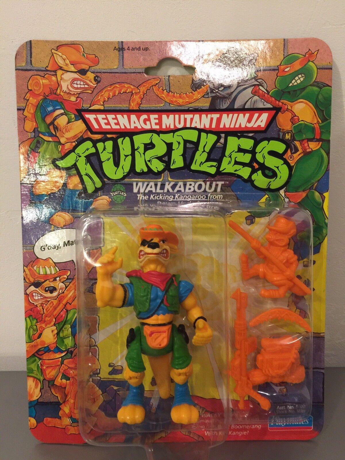 Vintage Jugarmates Teenage Mutant Ninja Turtles Tmnt 1991 Walkabout caso fresco