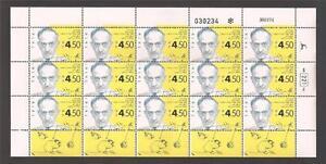 Israel 1994 Saul Adler Full Sheet Scott 1202 Bale 1148