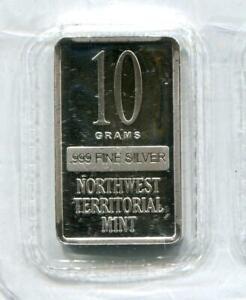 999 10 Grams Silver Bar Northwest
