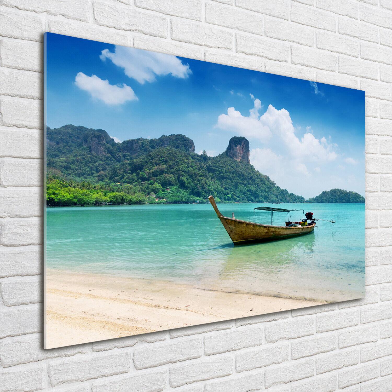 Acrylglas-Bild Wandbilder Druck 100x70 Deko Fahrzeuge Stiefel