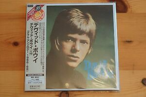 David-Bowie-Album-MINI-Vinyl-CD-DERAM-Japan-Carded-Sleeve-OBI