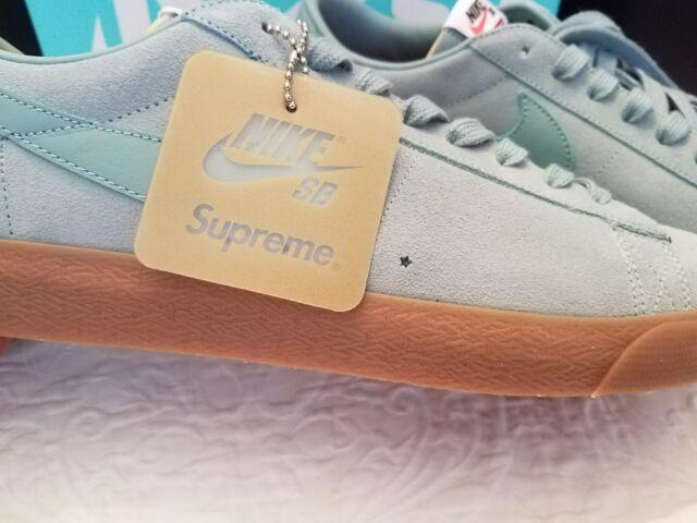 buy popular ceca4 60ee8 Supreme Nike Blazer Low QT GS Men's Size 14 Sneaker