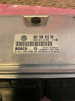 VW MK4 1.8T AWP ECU ENGINE COMPUTER IMMOBILIZER DEFEATED 06A906032RN